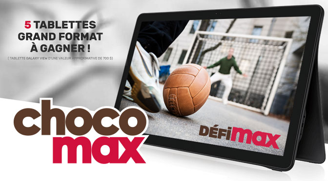 Concours ChocoMax le DéfiMax