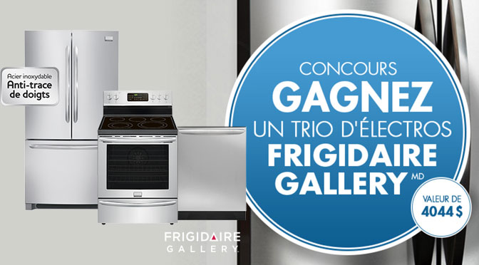 Concours Frigidaire Gallery