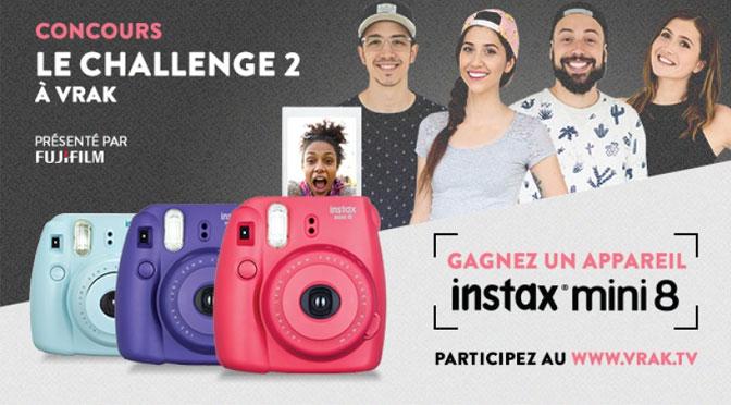 Concours Challenge 2 Vrak