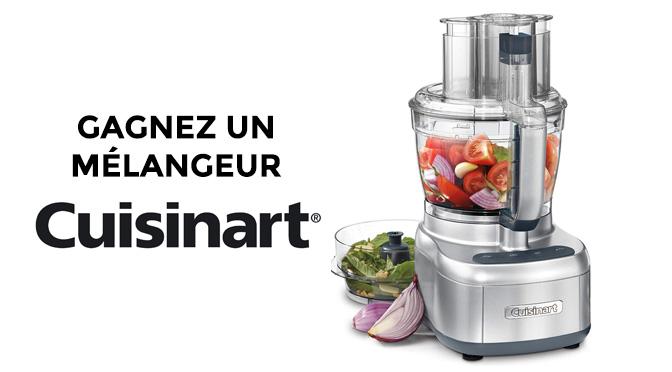 concours cuisinart robot