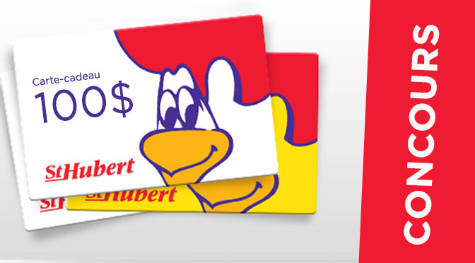 carte cadeaux Saint-Hubert