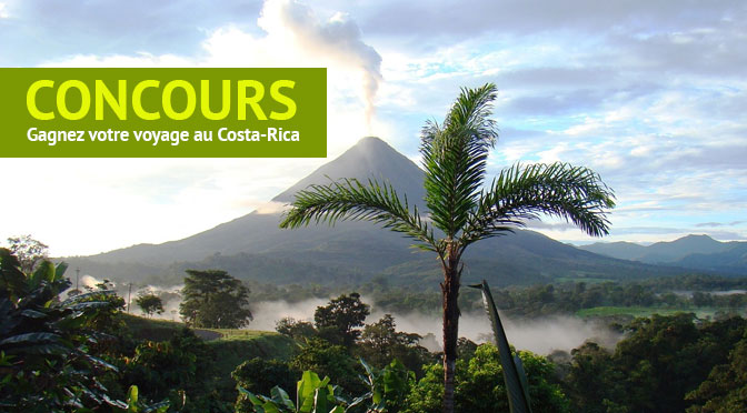Concours Voyage costa Rica