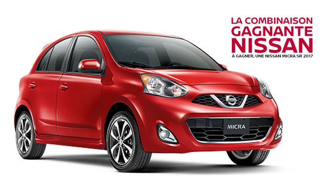 Concours Nissan Micra SR 2017