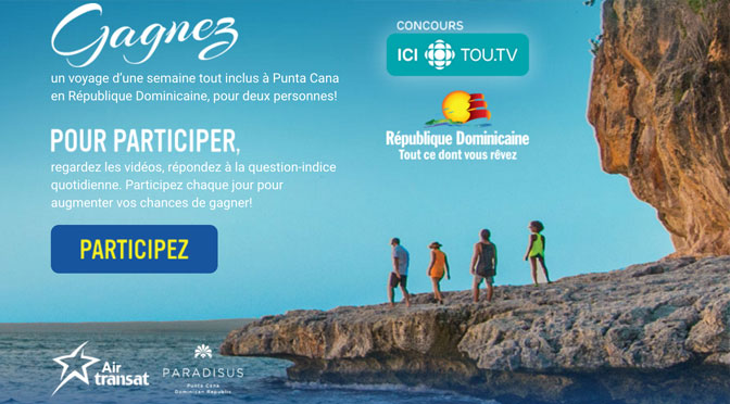 Concours voyage Punta cana