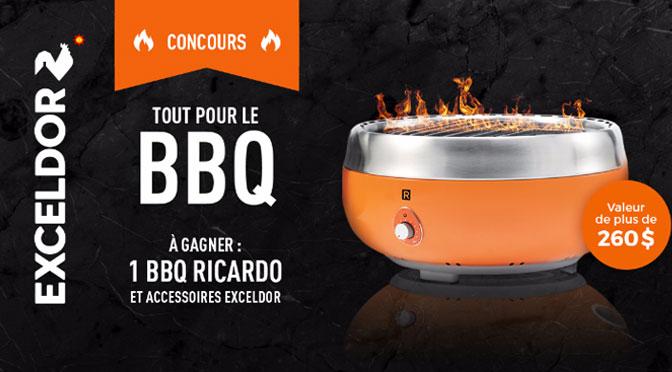 concours BBQ Ricardo de Exceldor