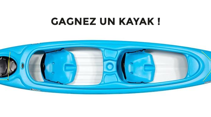 Concours gagnez un Kayak