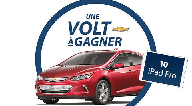 Concours Chevrolet Volt d'hydro-québec