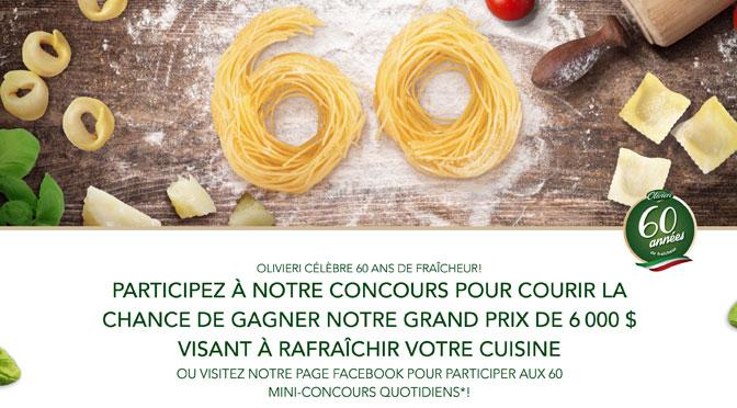 Concours 60 ans olivieri