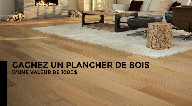 Concours planché de bois franc