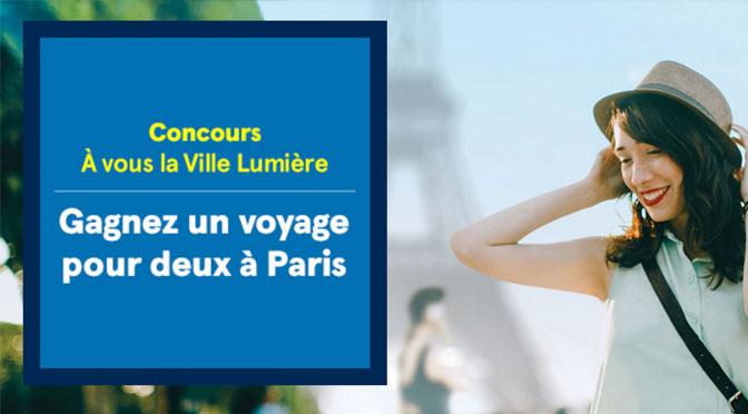 Concours voyage à Paris Air Transat