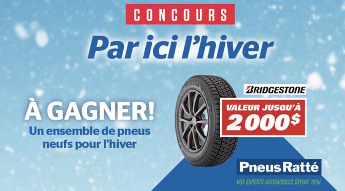 Concours Pneu Bridgestone