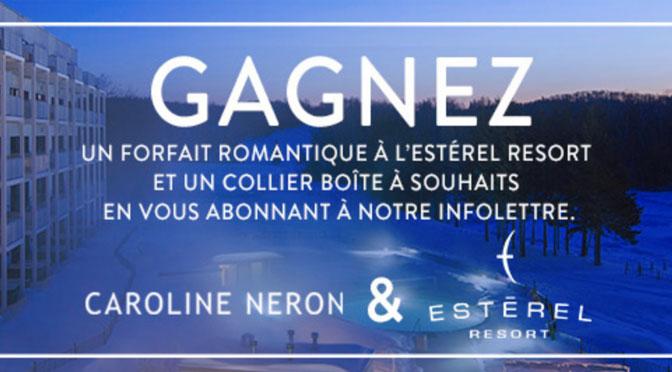 Concours Estérel Resort Caroline Neron