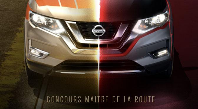Concours Nissan Maître de la route !