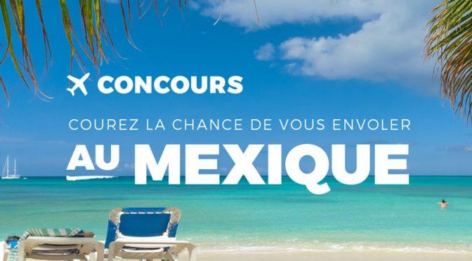 Concours Adrien Gagnon Voyage Mexique