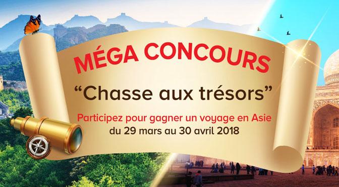 Concours Chasse au trésor Sinorama 2018