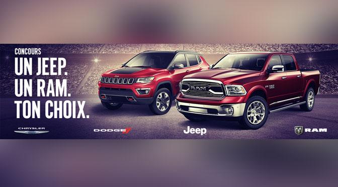 Concours Jeep Ram Ton Choix