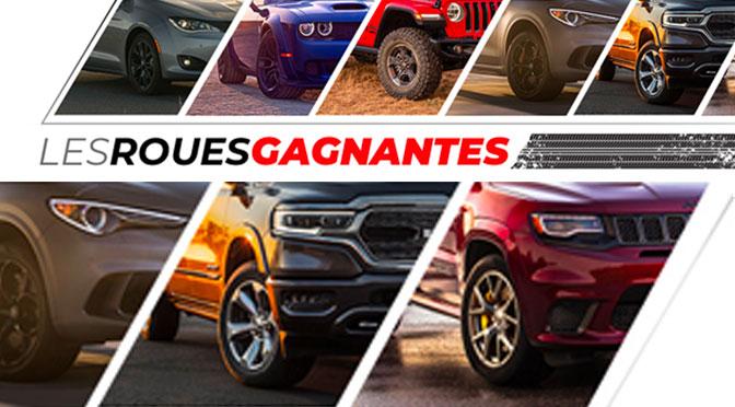 Concours les roue gagnantes Chrysler Dodge Jeep 2020 Concours
