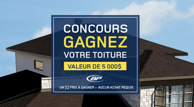 Concours toiture Rona
