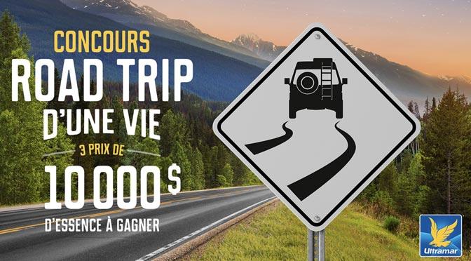 Concours Road Trip Ultramar 2018
