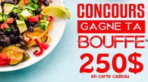 Concours gagne ta bouffe