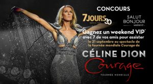 Concours Céline Dion Courage