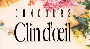 Concours clien d'oeil Clarins