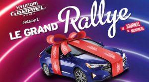 Concours Grand Rally Hyundai Journal de Montréal 2019