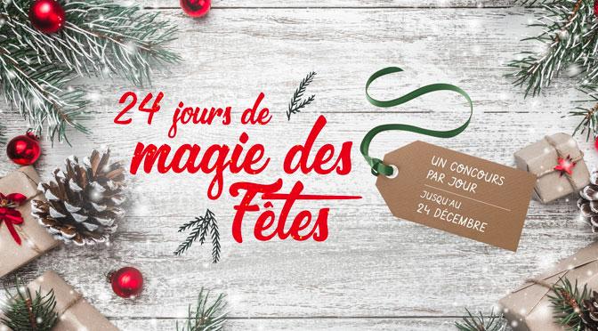Concours Magie des fêtes Jean-Coutu Calendrier de l'Avent