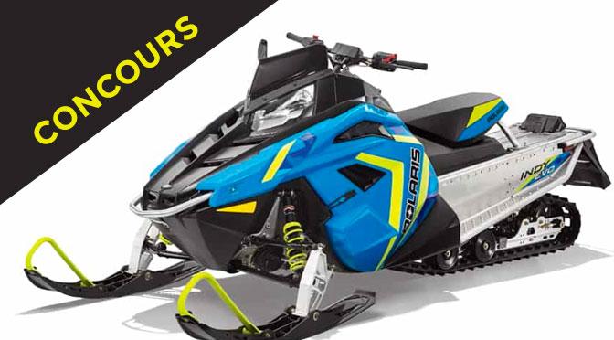 Gagnez une belle motoneige 2020 Polaris Indy EVO ou un VTT Sportsman 450HO