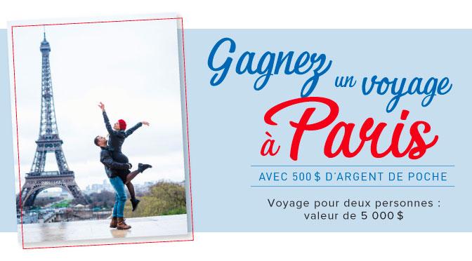Concours Linen Chest : Gagnez un voyage pour 2 durant 4 nuits à Paris