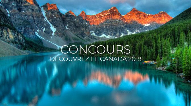 Concours Découvrez le Canada : Gagnez un Voyage pour 4 personnes à 13 378 $