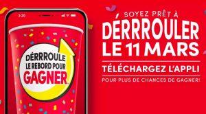 Concours Tim Horton Deroule Le Rebord pour gagner!