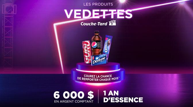 Concours Produits Vedette TVA Couche-Tard