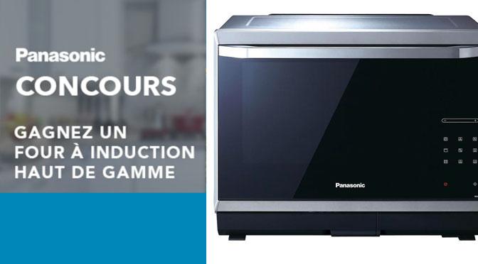Gagnez un four à induction Panasonic d'une valeur de 1099 $ avec Germain Larivière