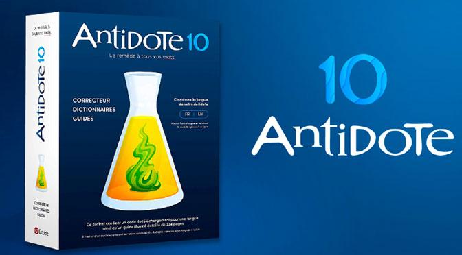 Gagnez l'un des 12 codes de téléchargement Antidote 10 Druide Informatique