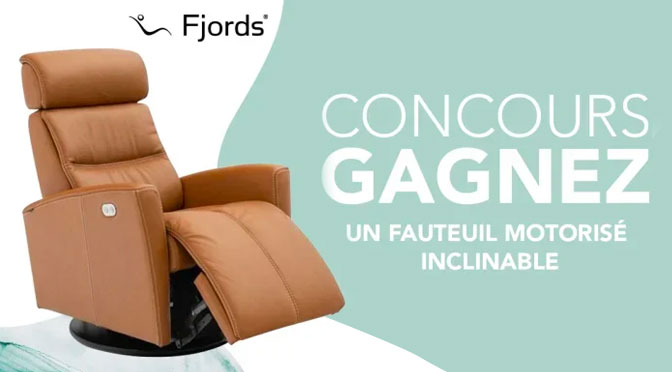 Concours Fauteuil Fjords