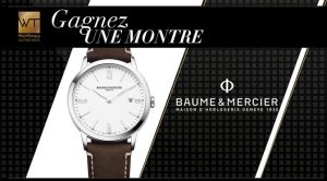 Gagnez une Montre Baume & Mercier Classima d'une valeur de 1 300 $