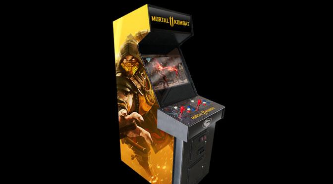 concours Arcade Mortal Combat