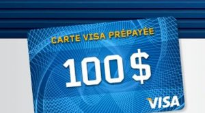 Concours NAPA : gagnez une CarteVISA prépayée à hauteur de 100 $