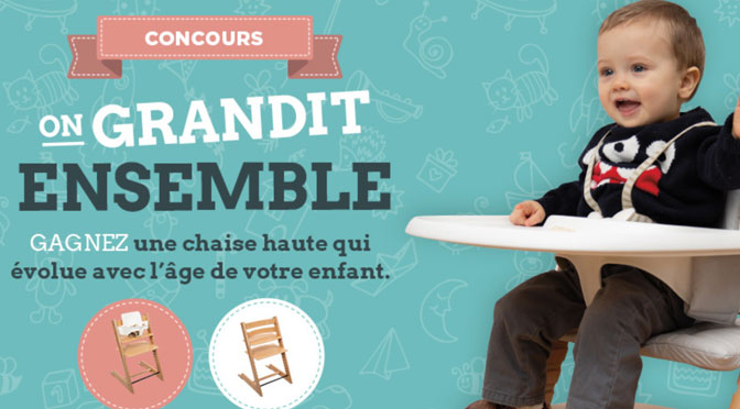 Concours Chaise haute bebe