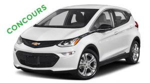 Concours autop électrique Chevrolet Bolt