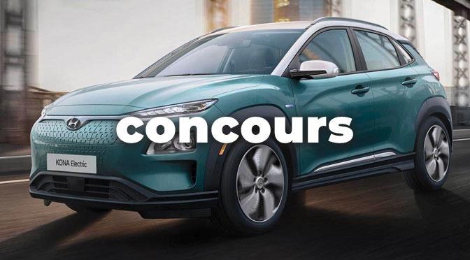 Concours Hyundai Kona Électrique Roulons Électrique