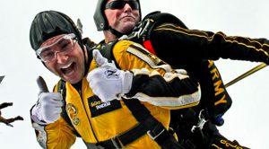 Concours saut en parachute Sos Sous-sol