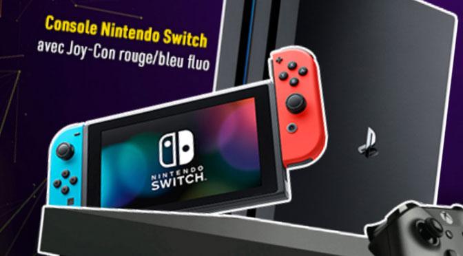 Concours console de jeu video