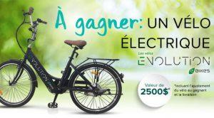 concours vélo électrique Evolution