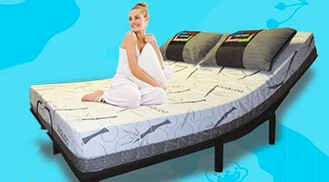 Qui veut gagner un grand lit électrique avec Meubles Domon ?