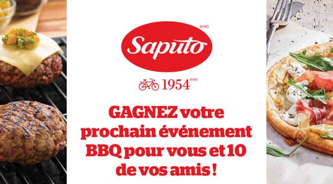 Concours Evenement BBQ Saputo