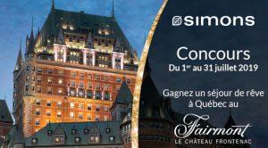concours Simons Fairmont