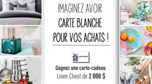 Concour carte- blanche Linen Chest