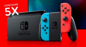 Concours Nintendo Switch!